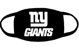 NY Giants (for mask) - custom vinyl transfer