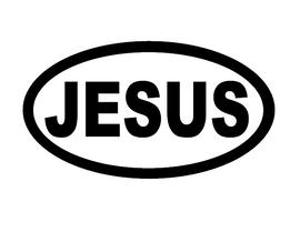 JESUS - custom Vinyl Transfer