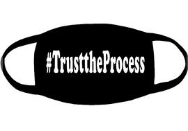 #TrusttheProcess (for mask) - Vinyl Transfer (white)