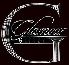 Glamour Glitzz- custom rhinestone Transfer