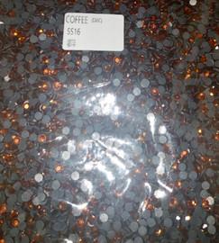Coffee 4mm 16ss Premium quality Loose Hotfix Rhinestone