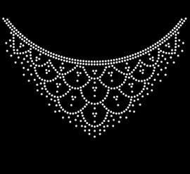 Necklace - custom Rhinestone Transfer