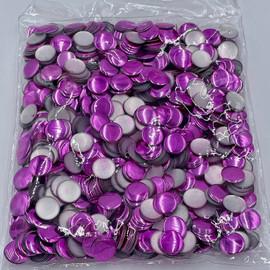 13mm Nailhead Violet Round 500 pc Loose Hot fix