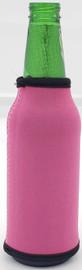 Light Fuchsia Bottle Koozie Neoprene