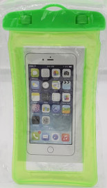 Waterproof Cell Phone Pouch (Green) Universal Case Dry Bag Protect iPhone X 8 7 6S Plus SE, Galaxy S6 S7, LG G5