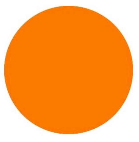 Neon Orange - PU Vinyl Sheet/Roll HTV