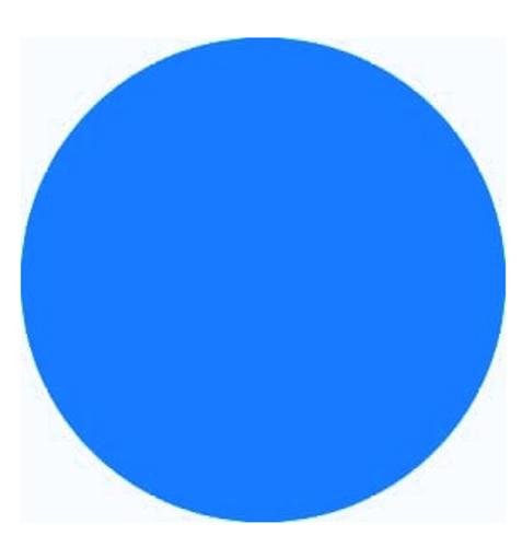 Neon Blue - PU Vinyl Sheet/Roll HTV