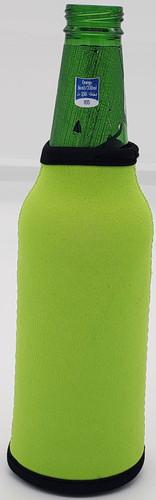 Apple Green Bottle Koozie Neoprene
