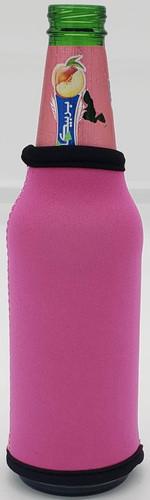 Fuchsia Bottle Koozie Neoprene