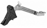 Agency Arms, Drop-In Flat Trigger, For Glock 43, Black Finish