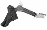 Agency Arms, Drop-In Flat Trigger, For Glock 42, Black Finish