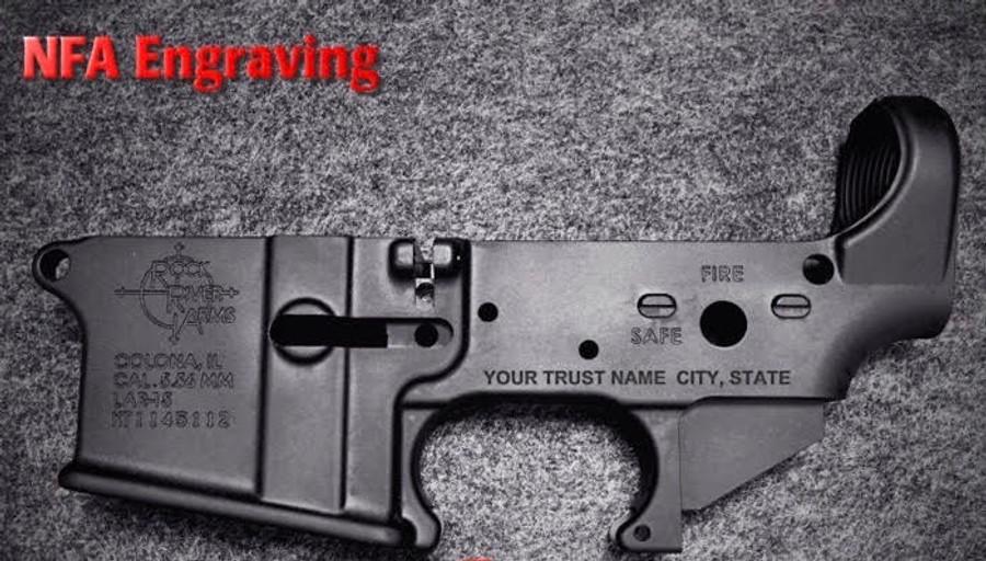 NFA S/N Engraving