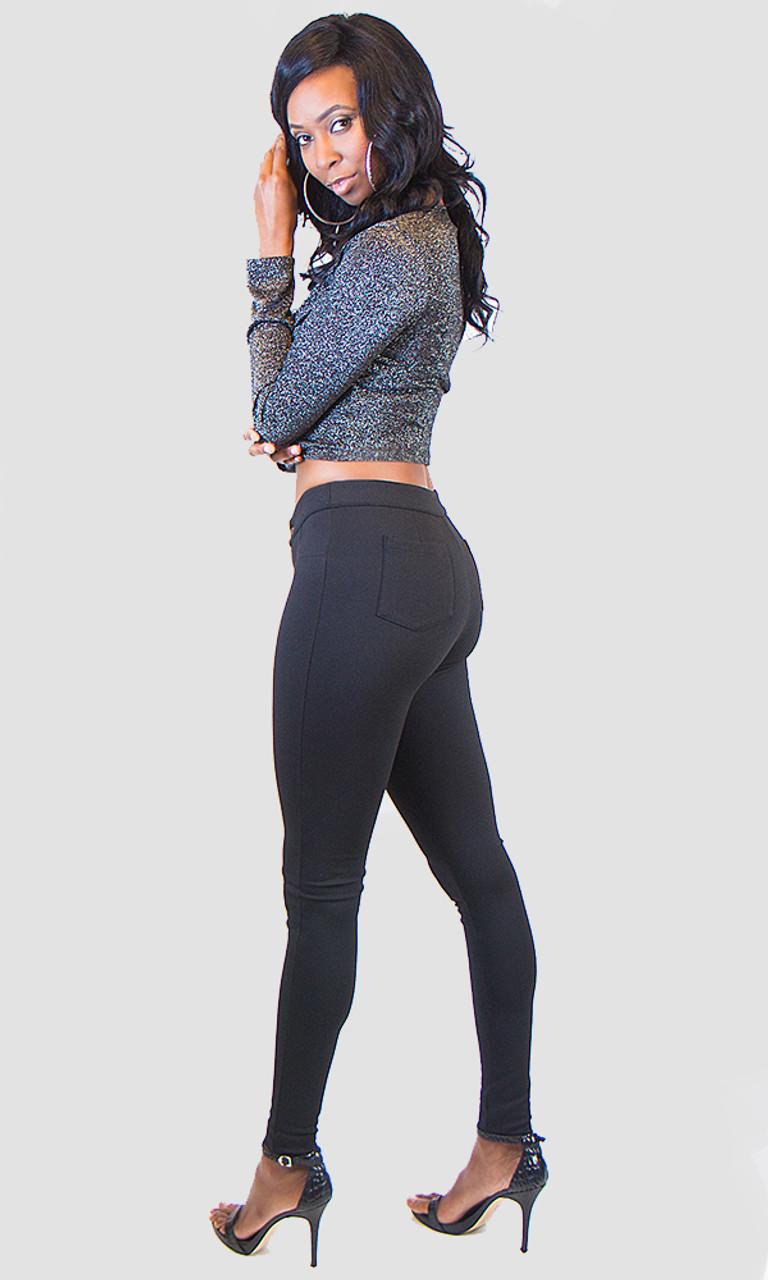 Mid Rise Skinny Pants