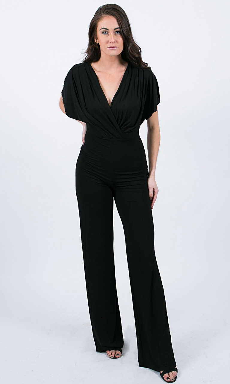 Julia Wrap Jumpsuit