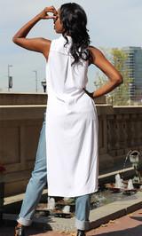 High Low Shirt - White