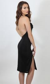Draped Neck Cocktail  Dress - Final Sale!