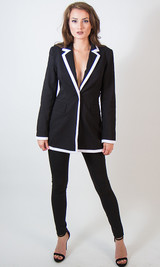 Long  Blazer/Blazer  Dress