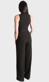 Button Up Jumpsuit - Black