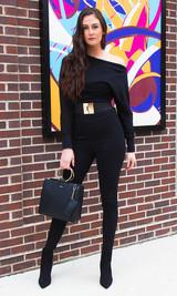 Jasmine Off Shoulder Jumpsuit - Black