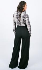 Windsor High Waist Pants - Black