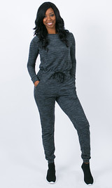 No Sweat Jumpsuit - Gray