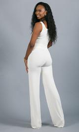 Geneva Pant - White