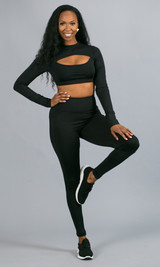 Work It Out Leggings - Black