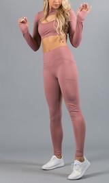 Work It Out Leggings - Blush