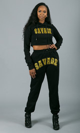 Savage Sweatpants - Black
