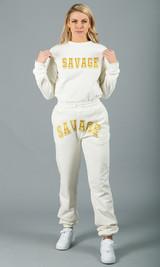 Savage Sweatpants - White