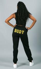 Body Sweatpants - Black