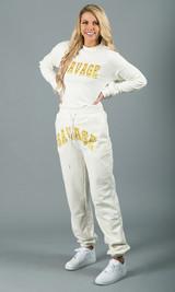 Savage Crewneck Sweatshirt - White