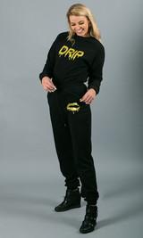 Drip Crewneck Sweatshirt - Black