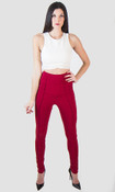 Pintuck  Skinny Pants