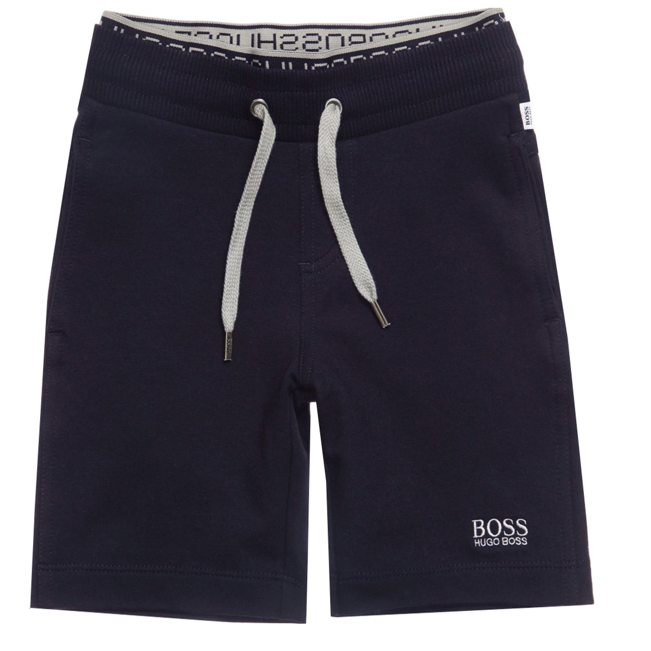 bd6def22 BOSS Navy Jersey Shorts - Le Petit Kids