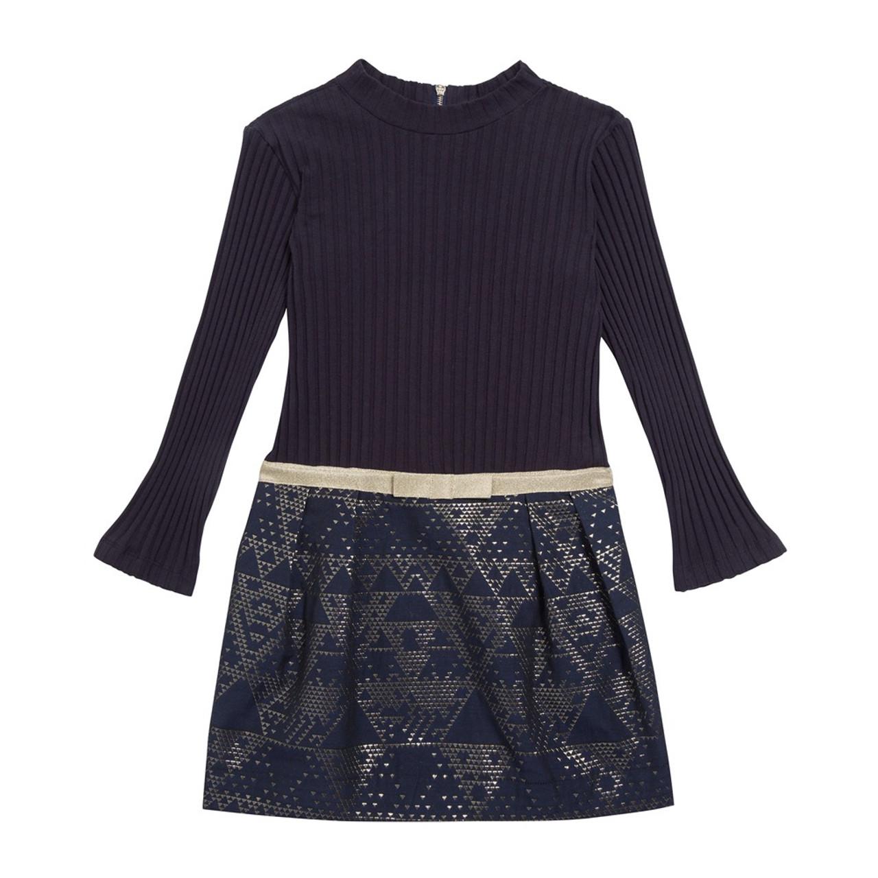 ff695b9ab Tartine et Chocolat drop-waist dress with modern print.