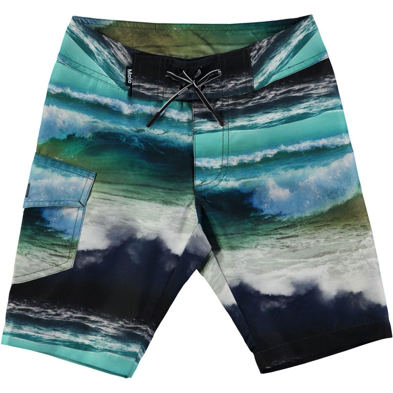 4337de245f MOLO Nalvaro Swimshorts - Ocean Stripe - Le Petit Kids