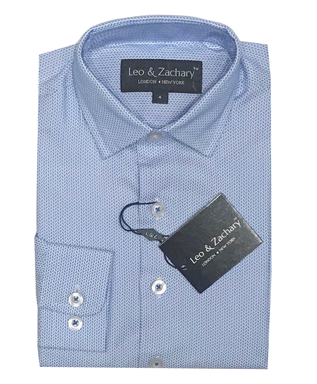 Leo & Zachary Shirt Dodger/Blue 5667
