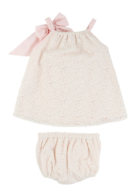 1e6b7a5dc Billieblush Eyelet Baby Dress   Bloomers