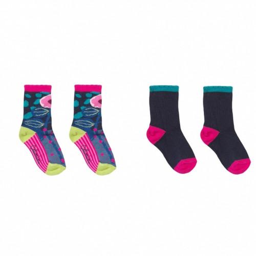 Catimini Girls Socks 2pk cg93005-87