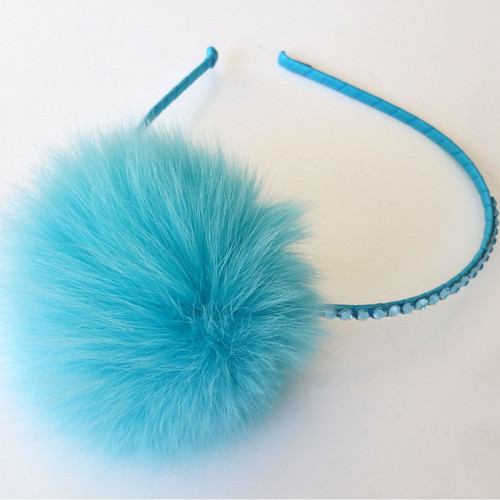 Bari Lynn Fur Headbands - Le Petit Kids 2f476d5c35e