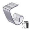 "2"" Super Multi-Clip® Table Skirting Clip with VELCRO® Brand fastener"