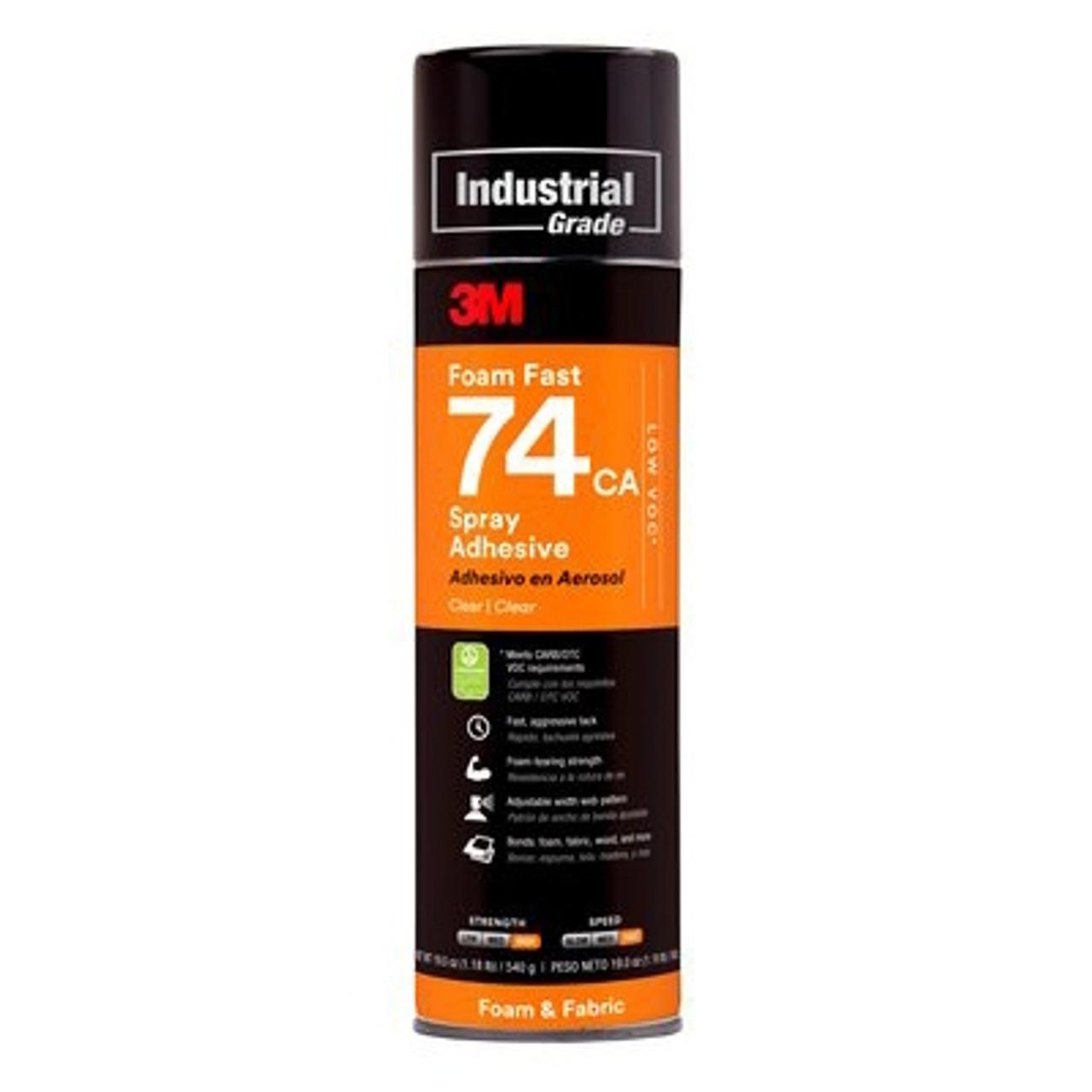 3M™ Foam Fast 74 Spray Adhesive 24 oz. can