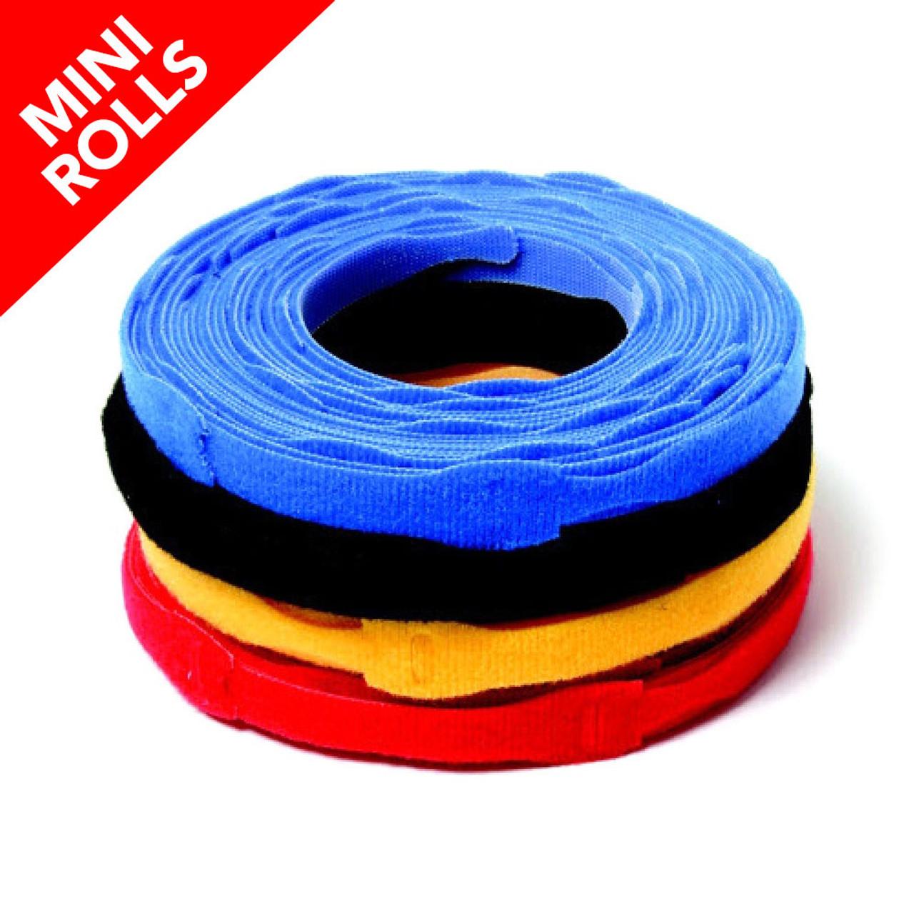 VELCRO ® Brand ONE-WRAP ® Die-Cut Straps - Mini Rolls / Velcro Straps - Bundling Straps - Velcro Tie - Velcro Strap