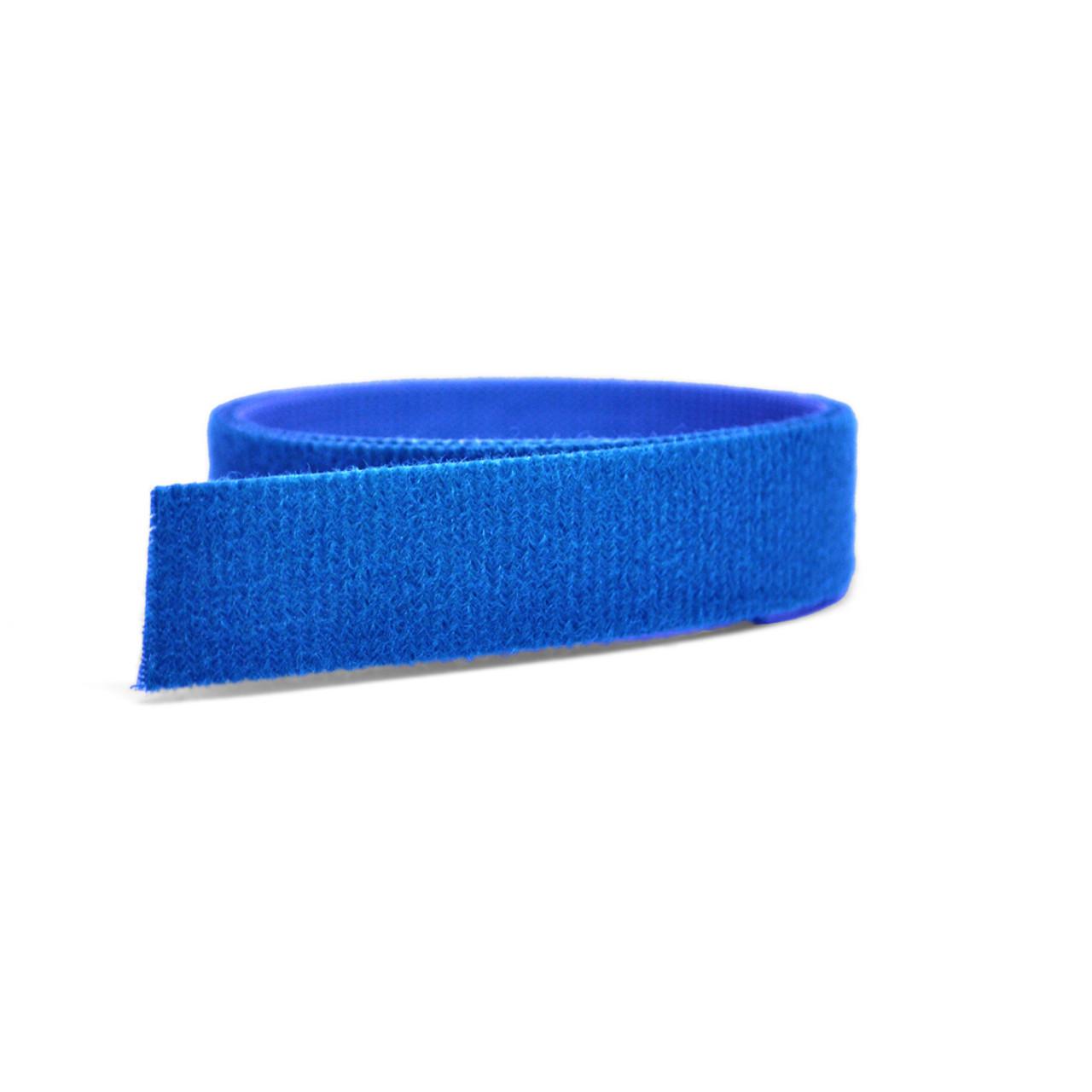 VELCRO® Brand ONE-WRAP® Tape Blue Mini Rolls / Velcro Straps - Bundling Straps - Velcro Tie - Velcro Strap