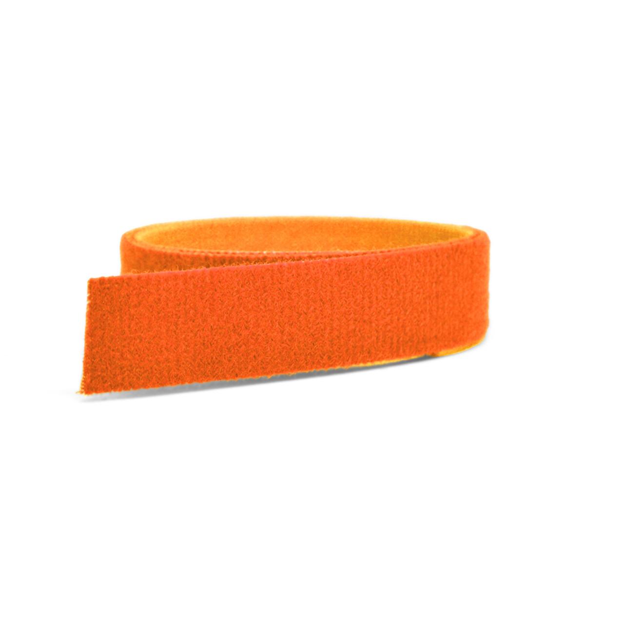 VELCRO® Brand ONE-WRAP® Tape Orange Mini Rolls / Velcro Straps - Bundling Straps - Velcro Tie - Velcro Strap