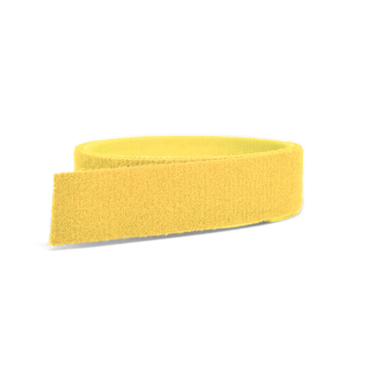 VELCRO® Brand ONE-WRAP® Tape Yellow Mini Rolls
