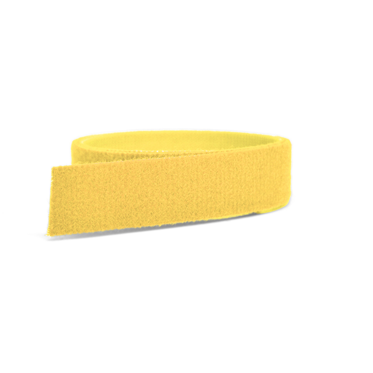 VELCRO® Brand ONE-WRAP® Tape Yellow Mini Rolls / Velcro Straps - Bundling Straps - Velcro Tie - Velcro Strap