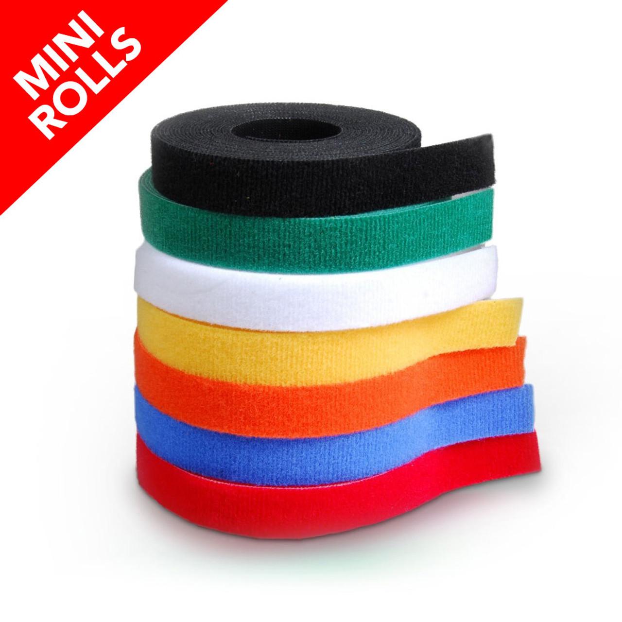 VELCRO® Brand ONE-WRAP® Tape Mini Rolls / Velcro Straps - Bundling Straps - Velcro Tie - Velcro Strap
