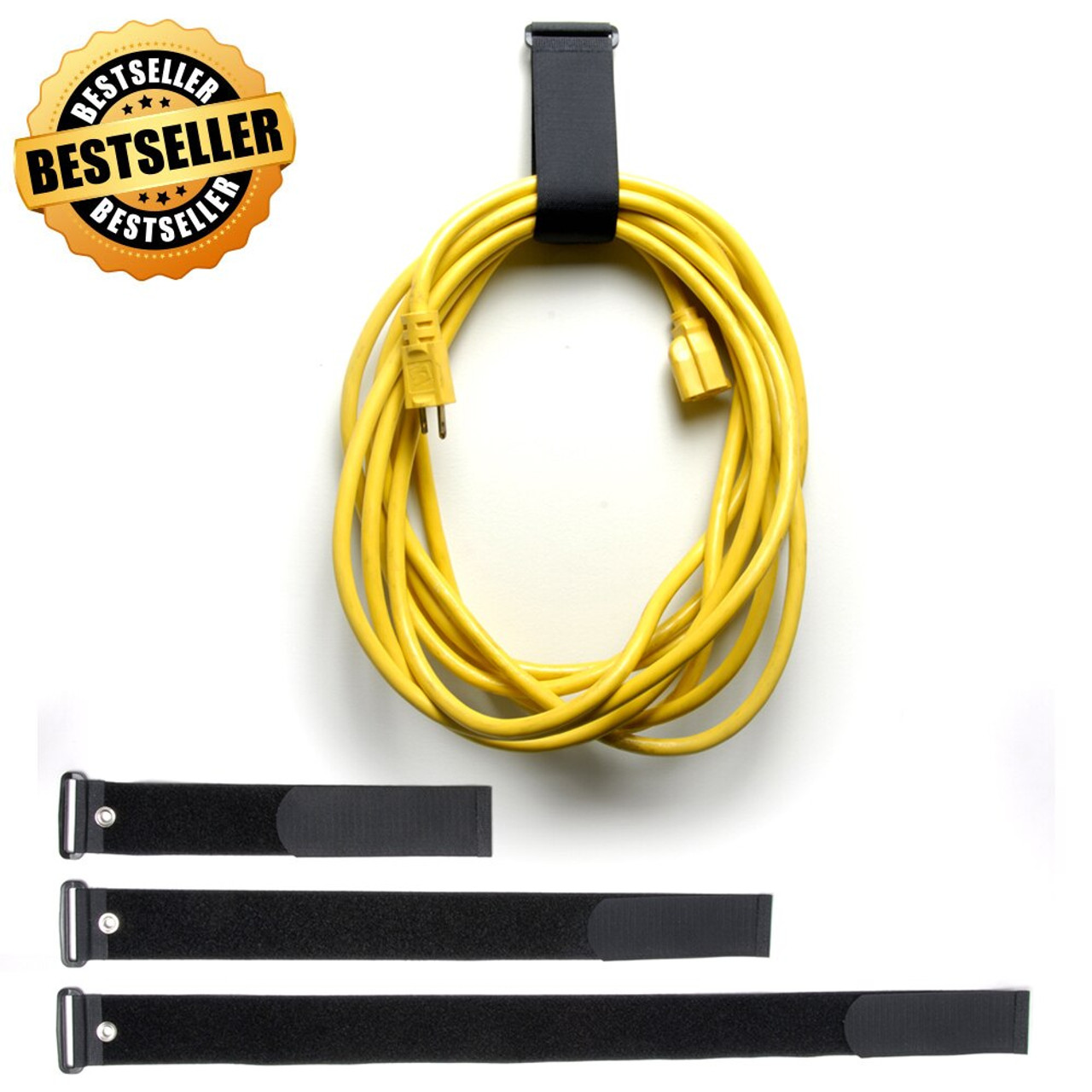 VELCRO ® Brand Straps - VELSTRAP® with Grommet / Velcro Straps - Bundling Straps - Velcro Tie - Velcro Strap